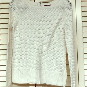 Ivory long sleeve sweater
